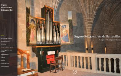 El órgano de Garrovillas ya es bien de interés cultural