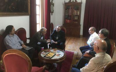 El Obispo recibe a la directiva de la Asociación «Marcos Durán»