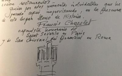 El Libro de Firmas del Órgano de Santa María