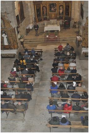 Público en Santa María
