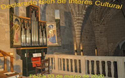 Publicación en DOE de la declaración de Bien de Interés Cultural del órgano
